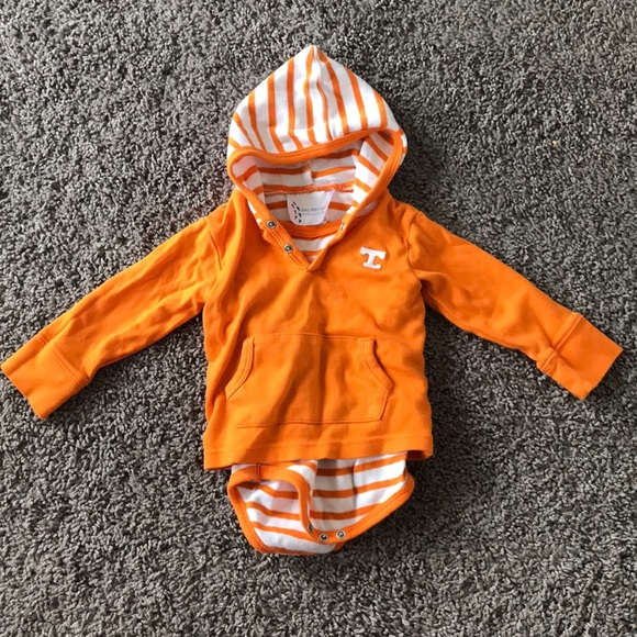 NEW Baby Tennessee Vols Volunteers Romper Creeper Size 12M 12 Mo Boys Girls